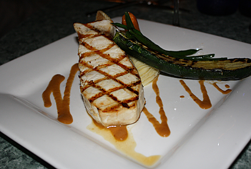 Perfectly Grilled Swordfish