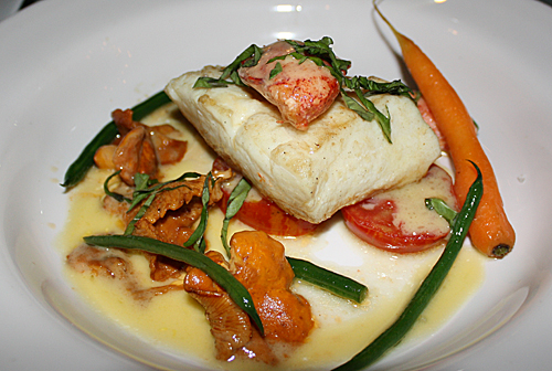 Halibut, Lobster And Chanterelles