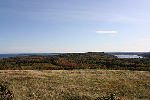 Chickawaukie Pond and Penobscot Bay