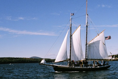View Schooners From Your Private Oceanfront Deck