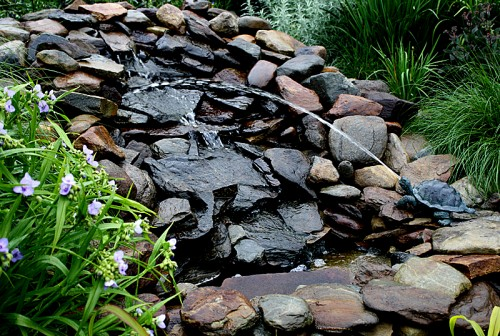 A Small Water Feature We Built In 2001