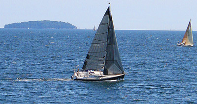 Sailing in Camden Maine