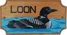 Loon Cottage Plaque