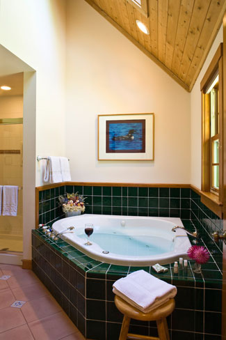 Oceanfront Inn Two-person whirlpool tub